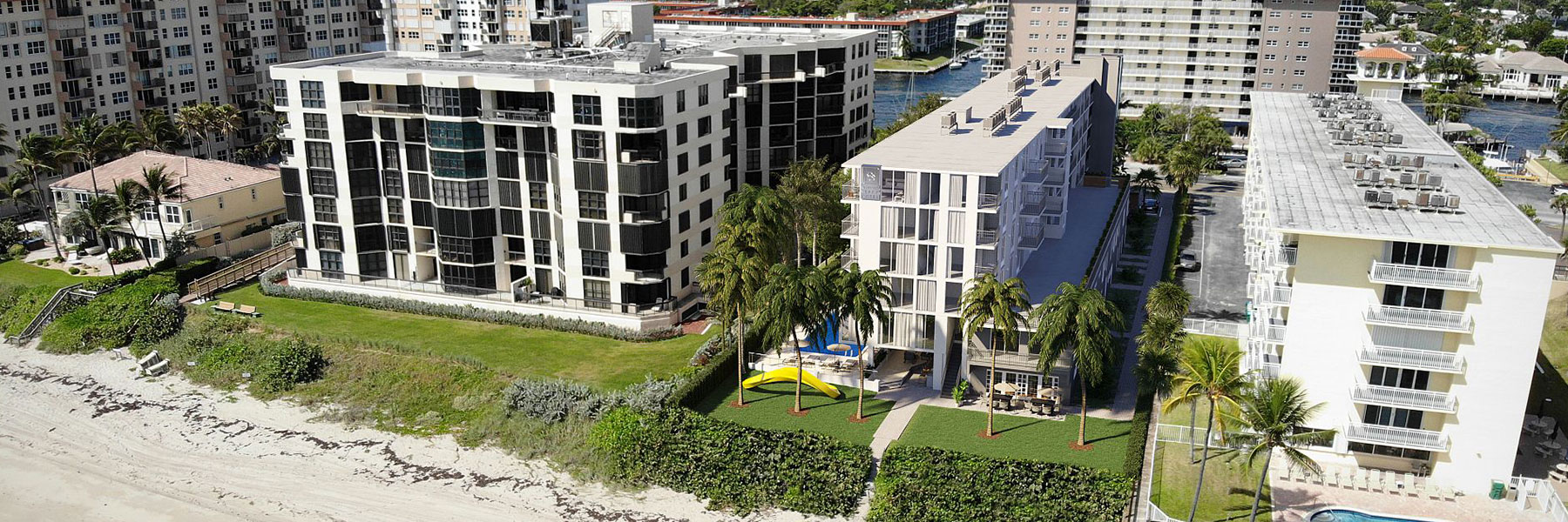 Site Map at Hillsboro Beach Resort